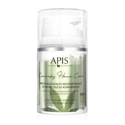 APIS Cannabis Home Care krem łagodząco - regenerujący na bazie oleju konopnego 50 ml