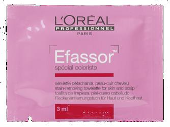 L'OREAL Efassor chusteczki do usuwania śladów farby 1szt