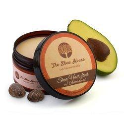 THE SHEA HOUSE Shea Hair Food with Avocado Oil odżywcze masło do olejowania włosów 250g