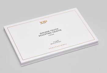 XIP Professional Golden Touch Sculpting Palette Cream - paletka do konturowania na mokro 6x3g